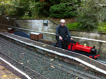Tim's Goods Train at Spinney