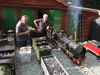 engine shed work